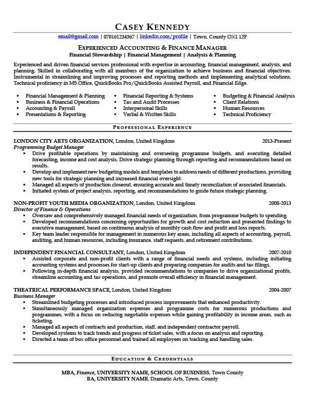 Casey's CV before CV Knowhow